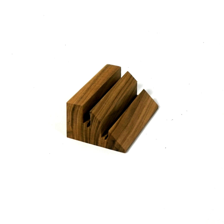Holzpuristen Kartenhalter Aus Kirschbaum Holz