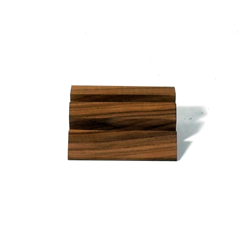 Holzpuristen Cherry Wood Card Holder Cardholder Real Wood